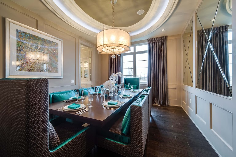 The Latest Trends In Dining Room Lighting Caliber Homes New Homes In Kleinburg Nobleton Mississauga The Greater Toronto Area