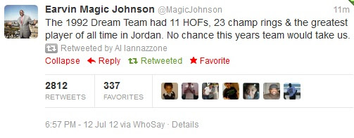 > Magic Johnson Reacts To Kobe Comments (pic) - Photo posted in BX SportsCenter | Sign in and leave a comment below!