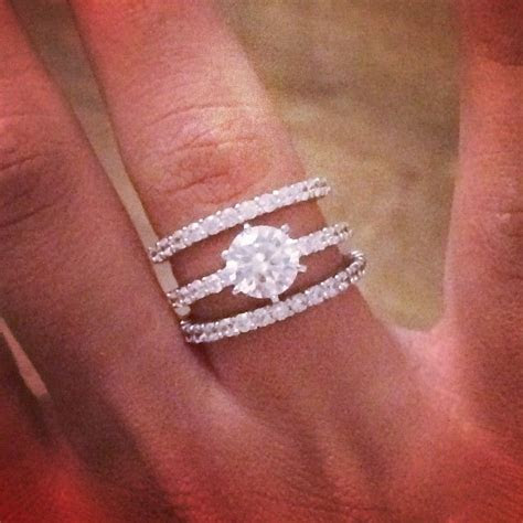 17 Best ideas about Double Wedding Bands on Pinterest
