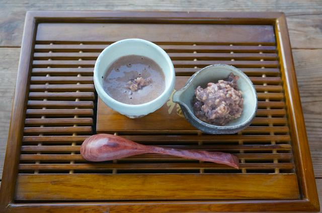 発酵あんこの「紅豆奶茶(小豆ミルクティー)」