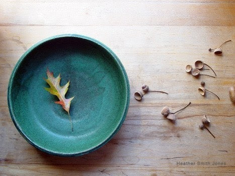 5 x 7 photographic print - autumn findings in my father's bowl