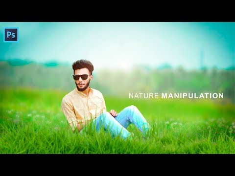 Awesome Nature Photo Effect | Photoshop Manipulation Tutorial