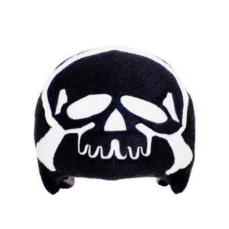 Skull Crossbones Helmet Cover Black Adult Tail Wags Helmet