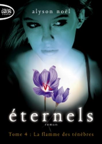 Couverture Éternels, tome 4 : La flamme des ténèbres