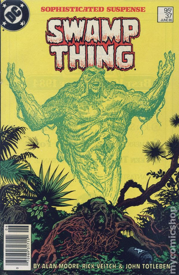 Swamp Thing Comic Books Issue 37