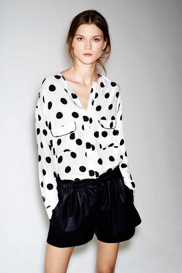 zara12 Kasia Struss Models Zaras December 2012 Lookbook