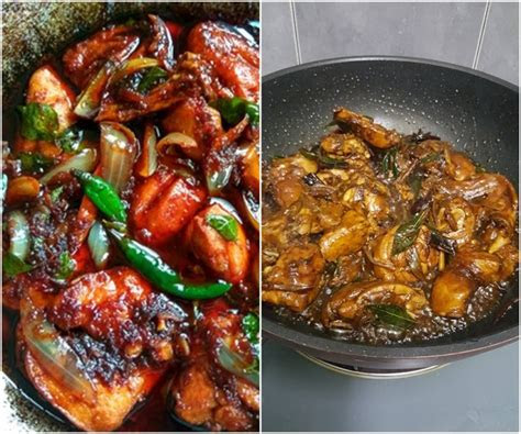 resepi ayam masak kicap berkuah  versi pilihan