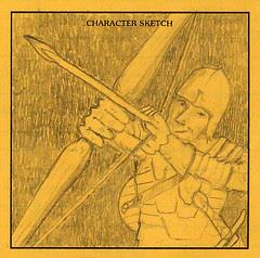 AD&D Character Sketch: Leofwin, half-elf ranger
