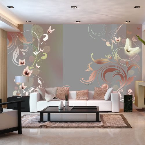 Removable Wall Art Mural 12X18, ArtWall James Thompsons Redwood Fusion
