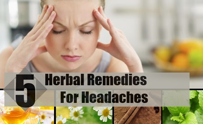 Best Herbal Remedies For Headaches - How To Treat ...