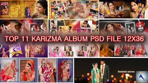 Free Download 12x36 PSD Wedding Karizma Album Design (PSD
