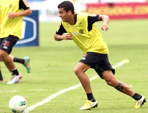 Ramon, Treino do Flamengo (Foto: Mauricio Val / Vipcomm)