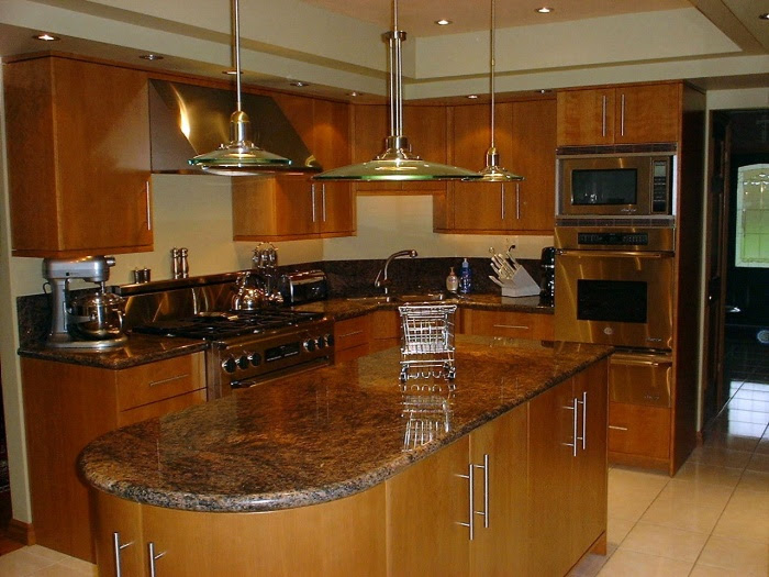 Modern Cherry Kitchen Cabinets - Home Design Jobs