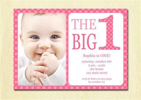 Baby First Birthday Invitations ? Bagvania FREE Printable