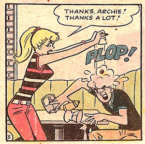 Betty's a jerk.