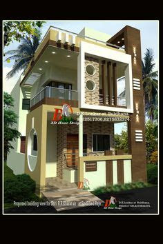 house elevation indian compact images house