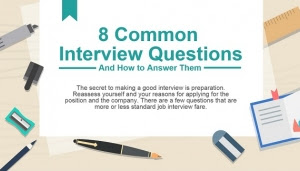 Infographic: Eight Common Job Interview Questions And How ...