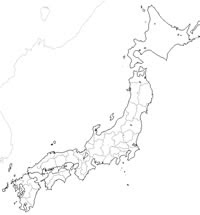 Craftmap 日本の白地図