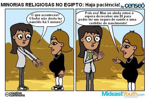 Minorias Religiosas no Egipto