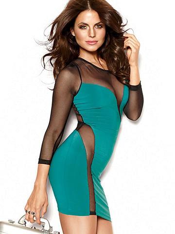 Wrap-Around Body-Con Dress