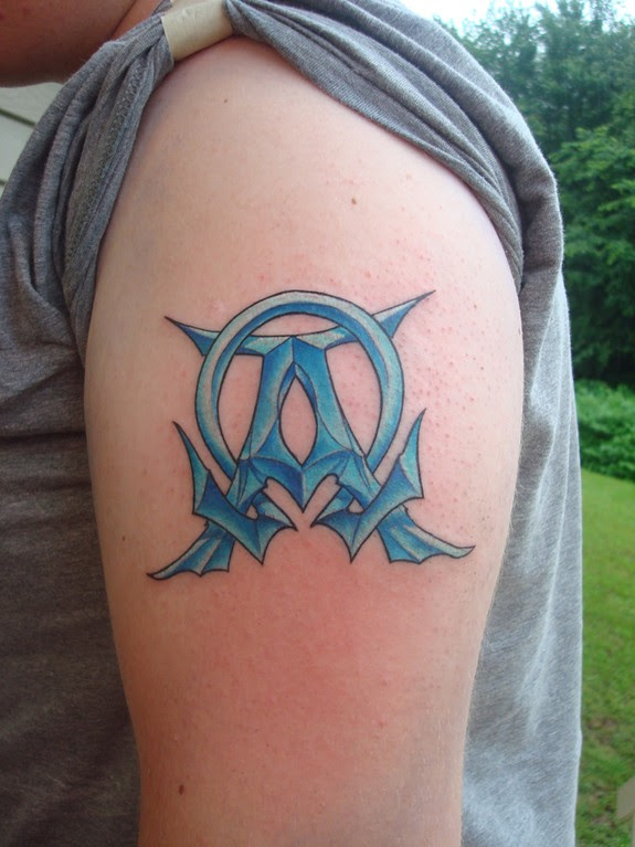 Alpha Omega Tattoo Tattoos Designs Ideas