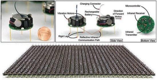 Enxame de 1.000 robôs mostra inteligência artificial coletiva