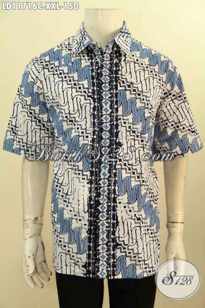 Desain Baju Batik Pria Lengan Panjang - Kumpulan Model Kemeja