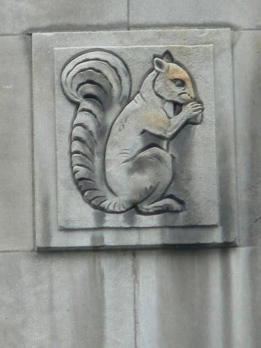 Holt Renfrew Squirrel, Montreal