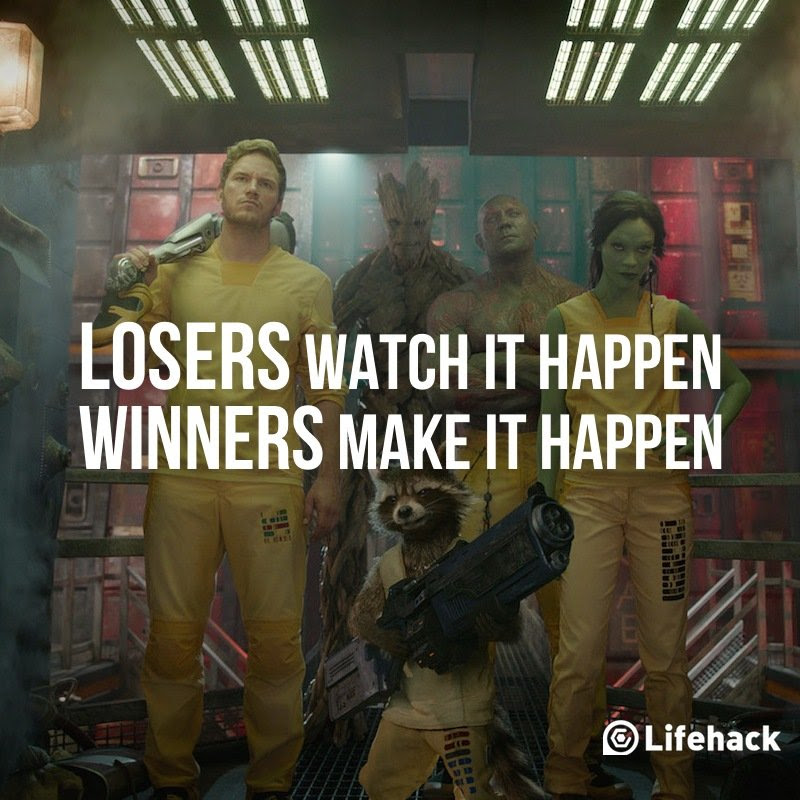 Movie Quote of The Day Guardians of the Galaxy