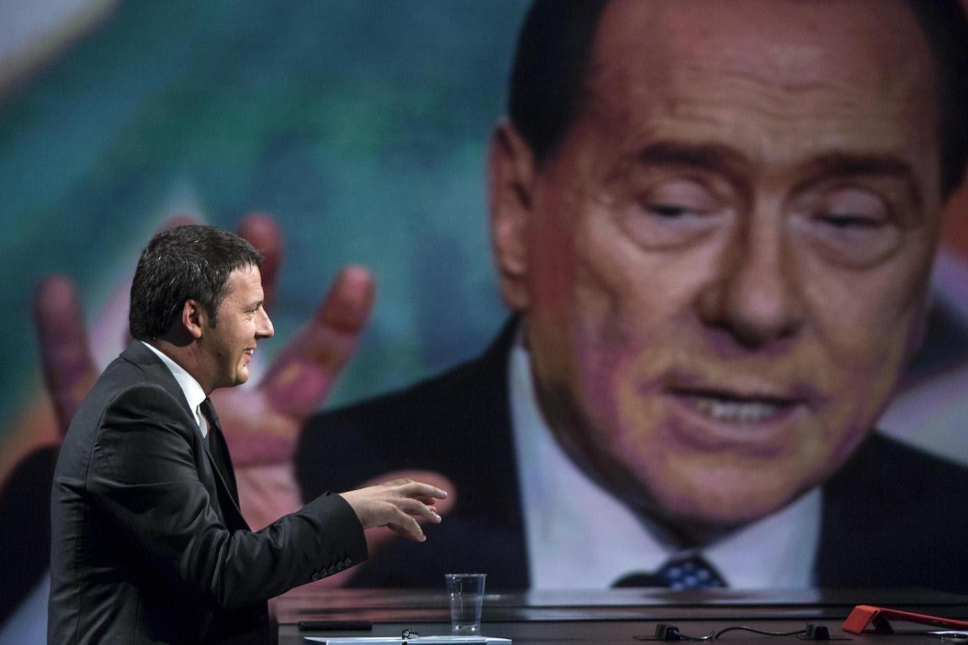 Renzi e Berlusconi, doppio peso all'italiana