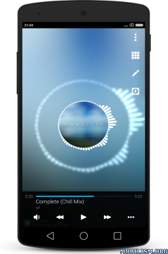 extramodapkblog: EXTRA!!! Avee Music Player (Pro) v1 2 75
