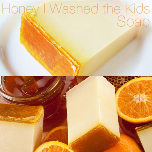 Honey I Washed the Kids Lush Soap Review