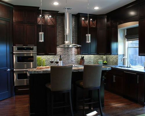 Espresso Kitchen Cabinets Home Design Ideas, Pictures ...