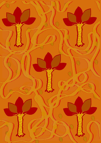 Orange Tree Print