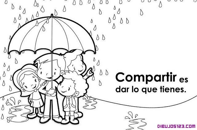 Imagenes Para Colorear De Niños Compartiendo Juguetes Imagui