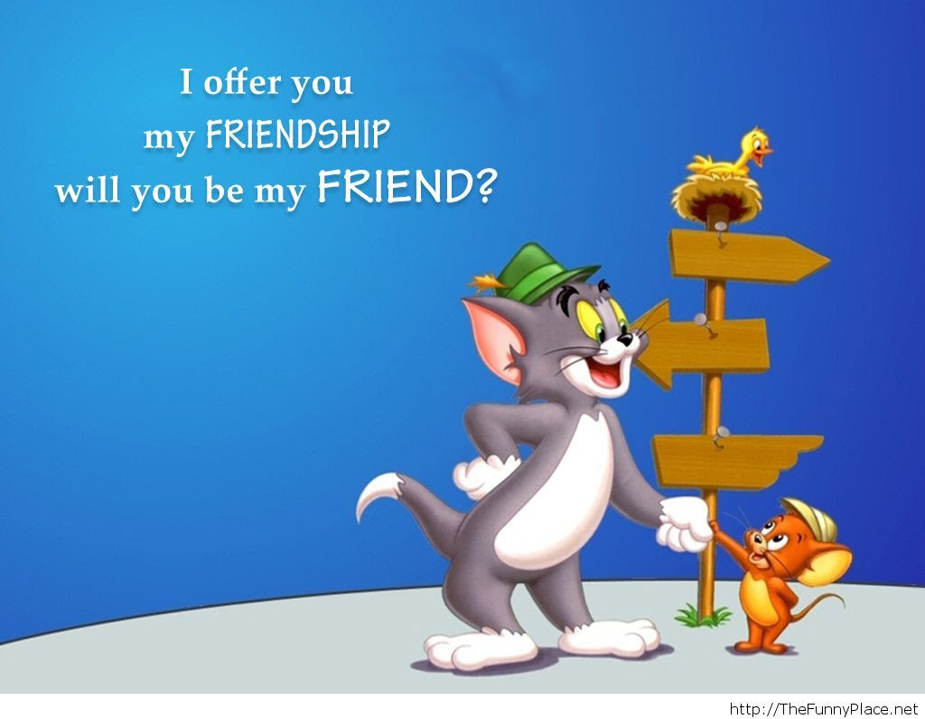 Tom And Jerry Friendship Quote Thefunnyplace