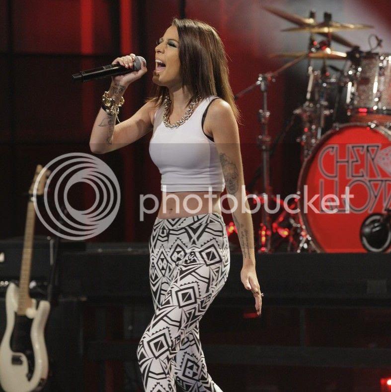 Cher Lloyd performs 'I Wish' on 'Leno'...