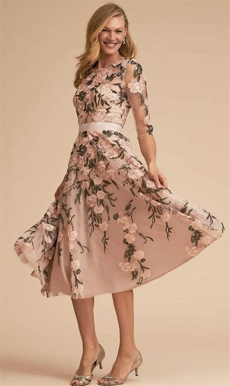 Floral Mother of the Bride Dresses   Dress for the Wedding