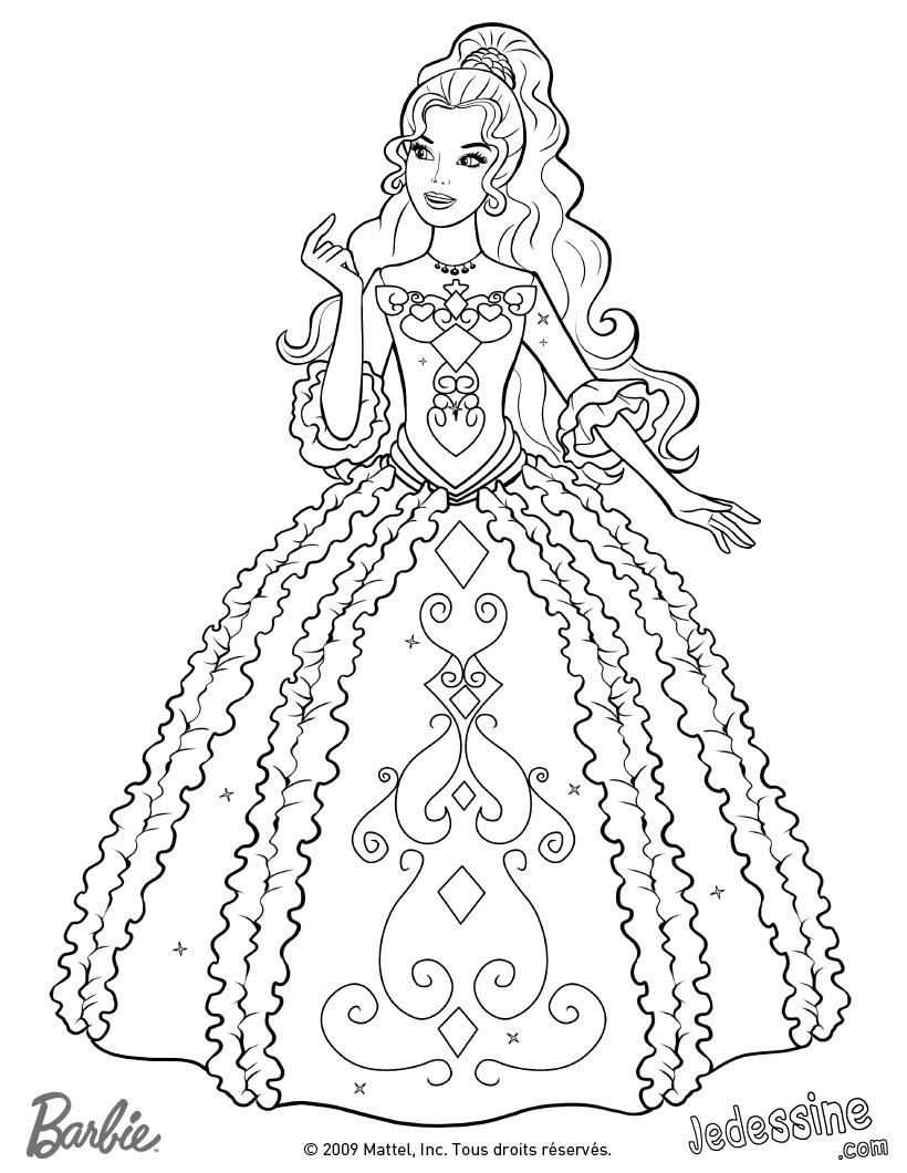 164 Dibujos De Barbie Para Colorear Oh Kids Page 16