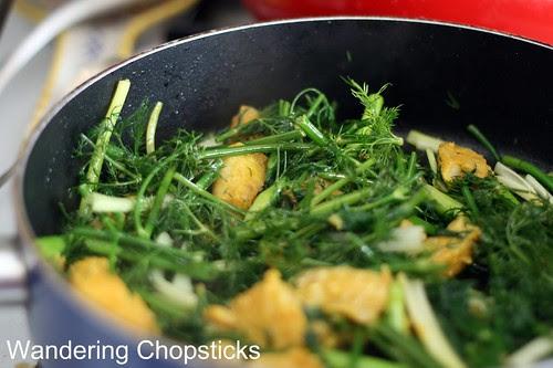 Cha Ca Thang Long (Vietnamese Hanoi-style Turmeric Fish with Dill) 10