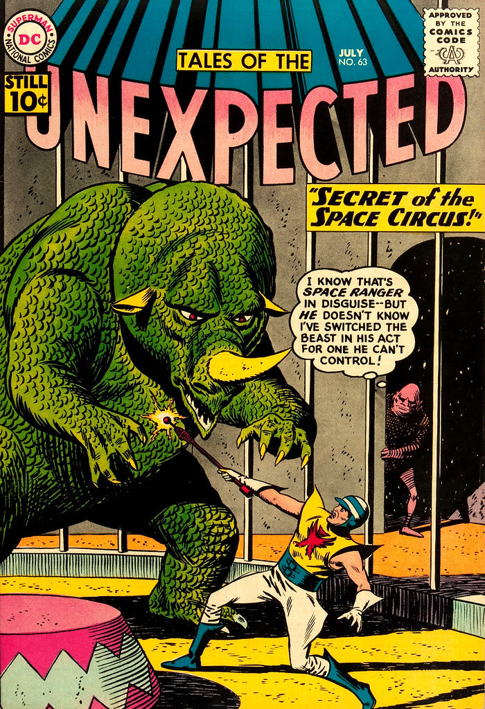 Tales of the Unexpected #63 (DC, 1961) Bob Brown cover
