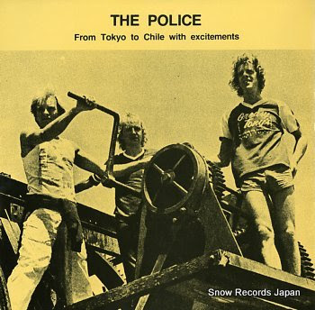 POLICE, THE from tokyo to chile with excitements