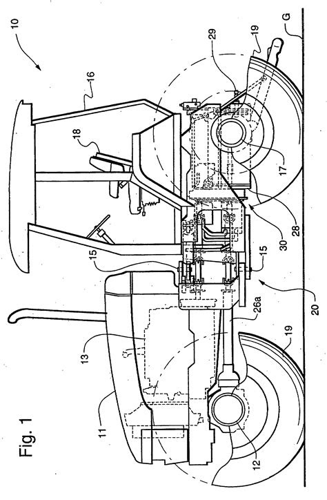 Patent EP0999385B1 - Tractor with lubrication system