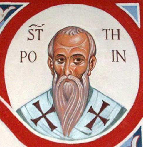 IMG ST. POTHINUS, Hieromartyr