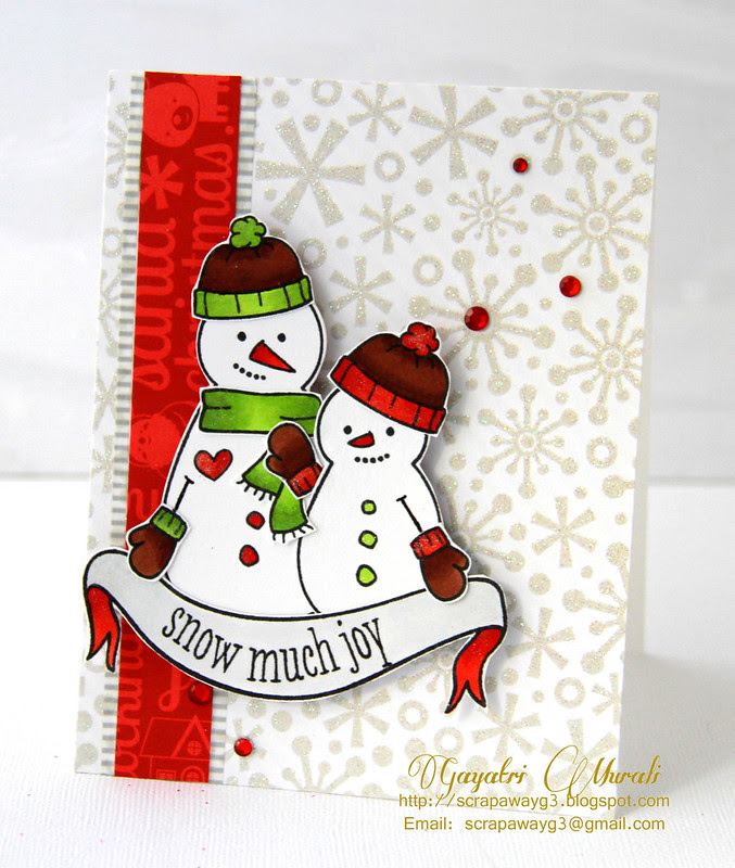 Snow much joy card
