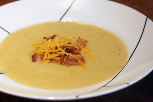 cheddar and potato soup
