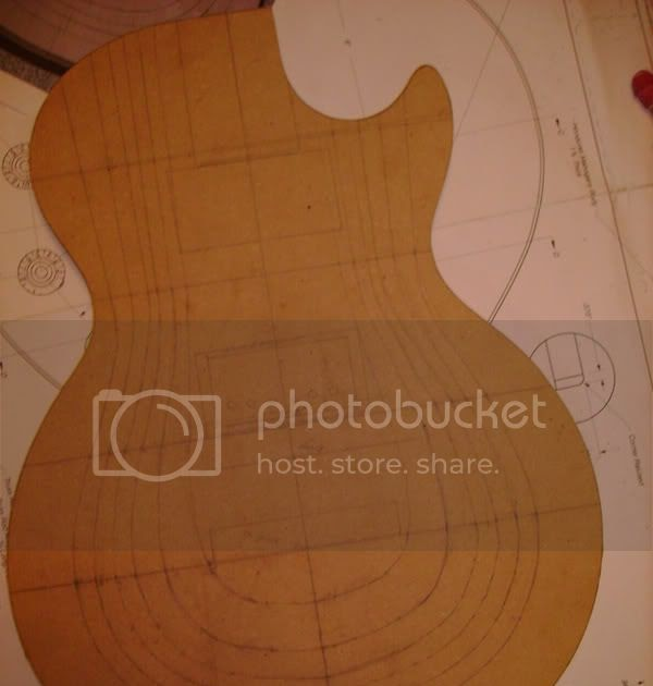 The accidental luthier carving maple top