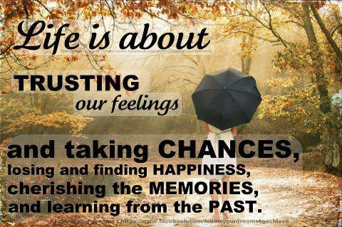 Life Quotes Chances Quotes Memories And Past