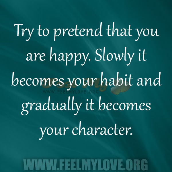 Quotes About Pretend Happiness 26 Quotes