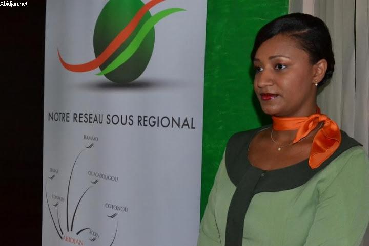 Air Cote d'Ivoire's Regional Network